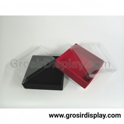 Kotak Perhiasan 12x12 Kalung Anting Cincin Aksesoris Box Nampan Kotak Bludru Medium