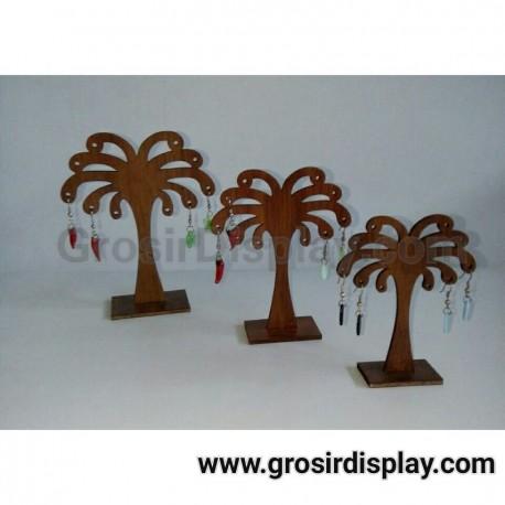 Jual Perlengkapan Toko Display Anting Pohon Kelapa Akrilik