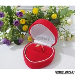 Kotak Display Cincin Besar Bentuk Love Motif
