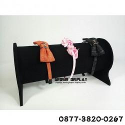 Display Bando Bludru Tempat Perhiasan Kepala Rak Pajangan Toko Susun 1