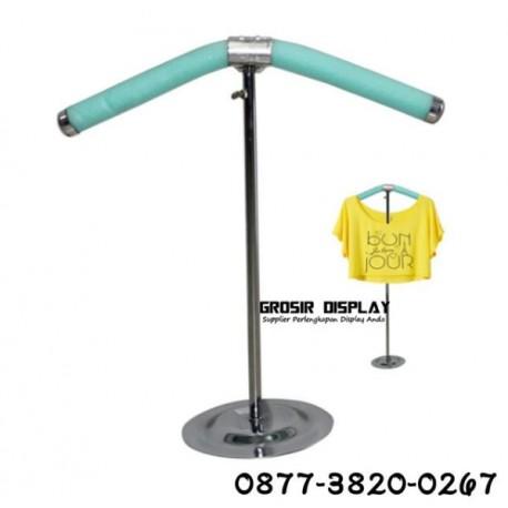 Stand Baju Hanger Display Butik Pajangan Distro Toko Pakaian