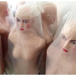 Patung Menekin Setengah Badan Wanita Display Baju Butik Toko