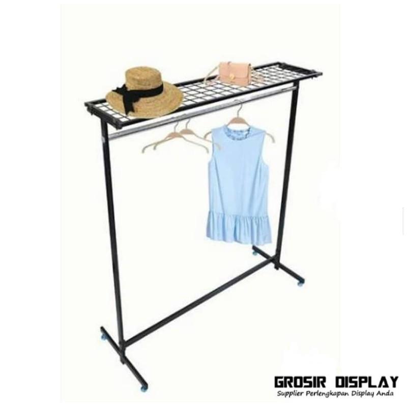 Gawangan Display Baju berdiri