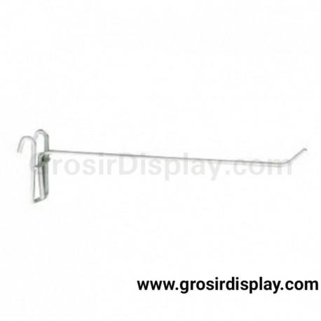 Hook Ram Super White 25 cm Gantungan Aksesoris Perlengkapan Toko