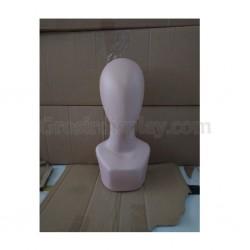 Manekin Kepala Alien Plastik Dewasa Display Jilbab Kerudung