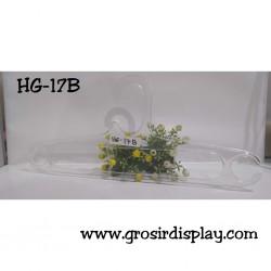 Hanger Oval Bening HG-17B Gantungan Baju 17'' Perlengkapan Toko