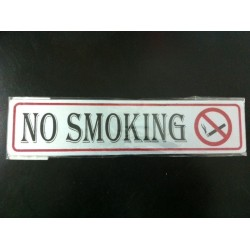 Sticker Peringatan Tanda Petunjuk Larangan No Smoking Dilarang Meroko