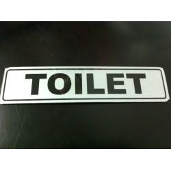Sticker Tanda Petunjuk Peringatan Tulisan Tempat Toilet WC