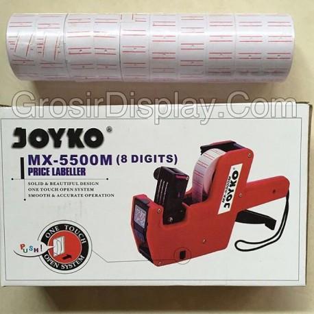 Tembakan Stiker Tempelan Harga Labeller Joyko Set Isi