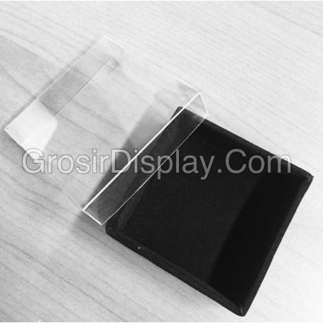 Kotak Perhiasan Kalung Anting Cincin Aksesoris Box Bludru Mini