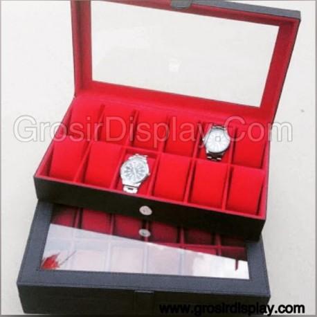 Jual Perlengkapan Toko Kotak Display Jam Tangan Bludru Box