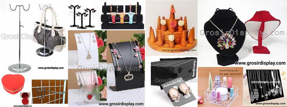 Perlengkapan Toko - Jual Tempat Perhiasan, Display Jam Tangan, Tempat Anting