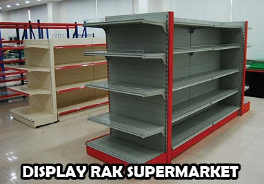 Display Rak Supermarket