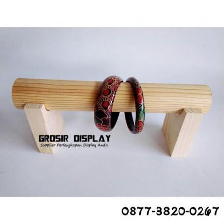 Jual Perlengkapan Toko Rak display Gelang Jam Tanagan 3 susun
